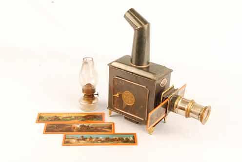 «Волшебный фонарь» для демонстрации первых слайд-шоу был придуман задолго до появления фотографии
