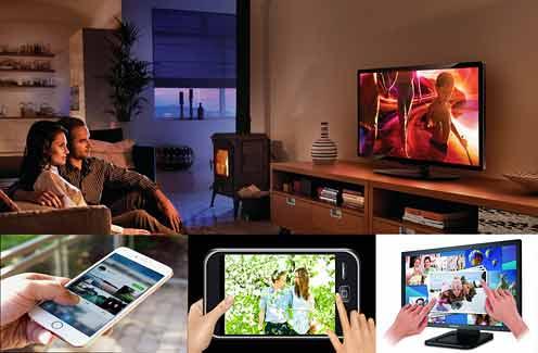 Слайд-шоу из фотографий можно смотреть на экране компьютера, телевизора, сотового телефона и других бытовых видеоустройств