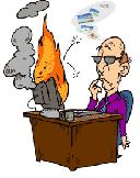 Компьютер в огне