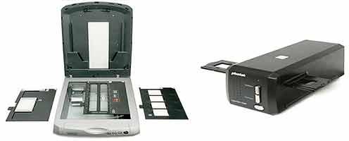 Оцифровать фотопленку можно на сканерах разного типа